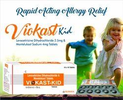 Montelukast Levocetirizine (Kid) Tablet