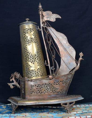 Enjoyable Great Decorative Old Unique Vintage Brass Beautiful Ship Table Lamp G68 29 Interior Design Ideas Clesiryabchikinfo
