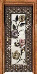 Flower Melamine Designer Door Skin