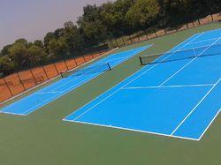 EPDM Tennis Court