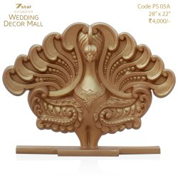 PS05A Peacock Sculpture