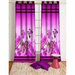 Butterfly Print Designer Curtain