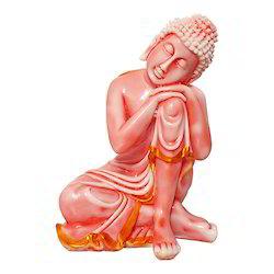 Marble Look Resting/ Sleeping Budhha Idol/ Statue Gift Item