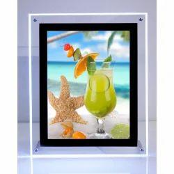 Rectangle Grey LED Photo Frame