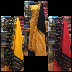 Pochampally Handloom Cotton Suit