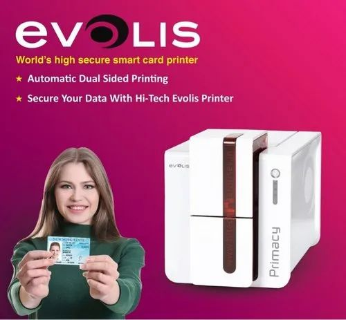 Pvc Id Card Printing Machine Evolis