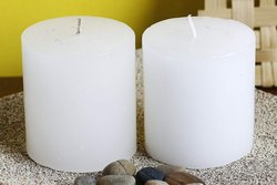 Plain Round Candles