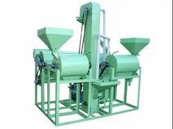 100 Kg/Hr Mini Dal Mill Machine