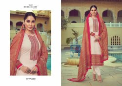 Mumtaz Arts Navika Lawn Cotton Embroidery Karachi Suits Collection