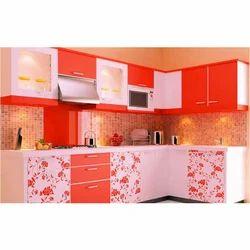 Wooden Modular Kitchen Furniture At Rs 50000 Set Rasoighar Ke
