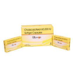 Cholecalciferol 60,000 I.U Softgel Capsules