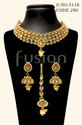 Designer American Diamond Choker Necklace Set