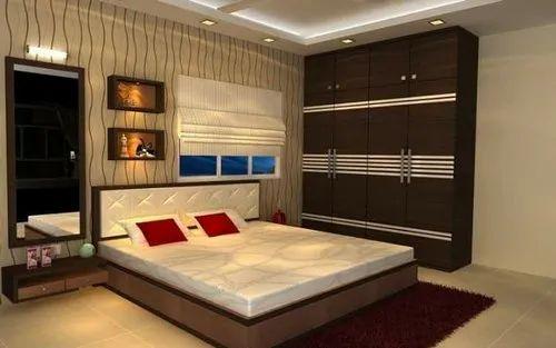 Bedroom Interior Designing Bedroom Interior Designing Designer Home Kitchen Llp Mumbai Id 20002685662