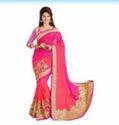Ladies Embroidery Work Sarees