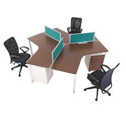 Desking Three Seater Workstations
