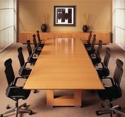 Plywood Conference Table