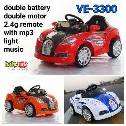 Multicolor Bugati battery kids car, Capacity: 60 Kg