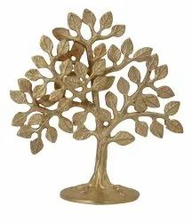 Brass Tree For Decoration