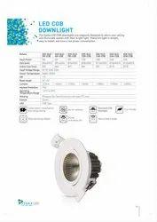 Round SYSKA Eco Series COB Downlights SSK-DLE-12W