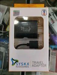 Syska Travel Adapter