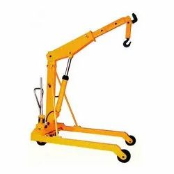 Battery Operated Hyd. Mobile Floor Crane