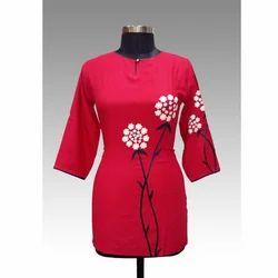 Red Tunic Kurti