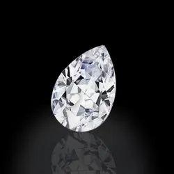 GH VVS  Pear Moissanite Diamond