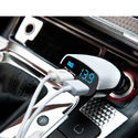 3.4 A. Dual USB Intelligent Chip Super Fast Plug Car Charger