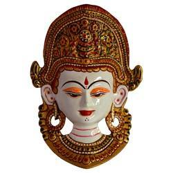 Multicolor Metal Tara Face With Meena Work