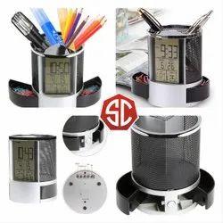 Pen Holder Digital Clock