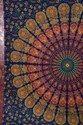 Multi Color Indian Mandala Tapestry