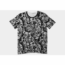 Medium And XL Cotton Designer Printed T Shirt