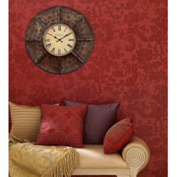 Red Indoor Wall Coverings
