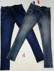 Men's Slim Fit Basic Jeans