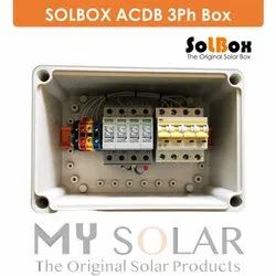 ABS & PC SOLBOX ACDB, IP Rating: IP65, Automation Grade: Automatic