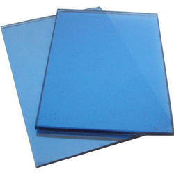 Blue Tinted Glass