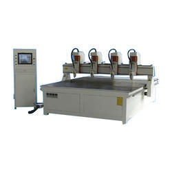 CNC Multi Spindle Router Machine