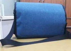 Non Branded Blue Sling Bag, For College
