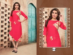 Regular Wear Half Sleeve Kurti