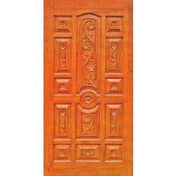 Traditional Front Wooden Door
