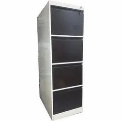 Four Drawer Filling Cabinet Powder Coated