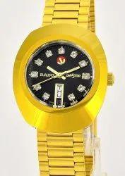 Rado Diastar Golden Automatic Watch - First Copy Watches