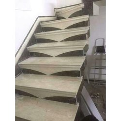 Stylish Fancy Italian Marble Step Designs Flooring Service
