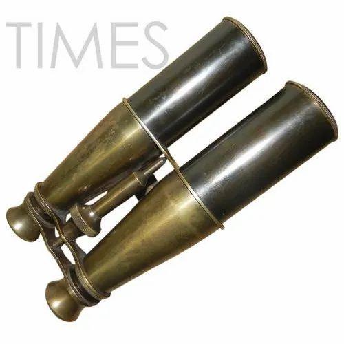 Times Creation Antique Black Nautical Antique Binocular, Model Number: Tcil-4005