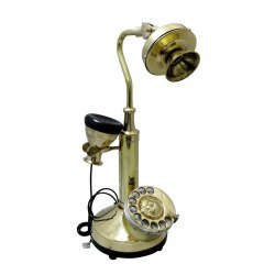 Antique Brass Working Telephone