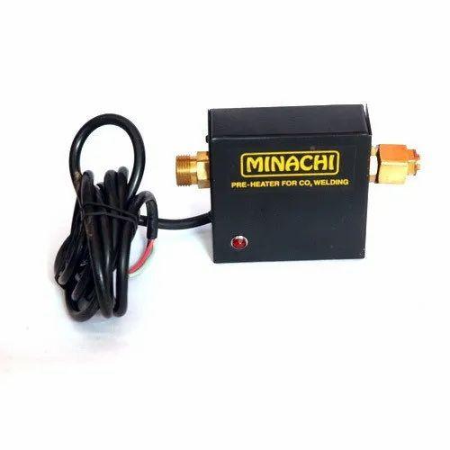 Black Minachi Co2 Gas Heater, Size: Standard
