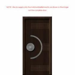 Metal Residential Main Door, For Home, Size/Dimension: 3 X 7 Feet