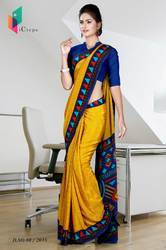 Uniform Saree For School Teacher