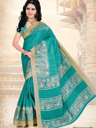 97ef0c0d0 Cotton Party Wear Designer Printed Saree
