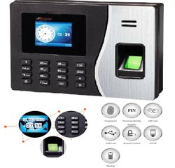 Realtime RS20 Biometric Attendance System with Access Control